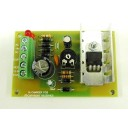 BATTERY CHARGER  MODULE FOR SEALED LEAD ACID BATTERY  INPUT 16VAC  OUTPUT 13,5VDC  1AMP