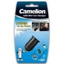 USB CAR CHARGER 5V  2.1AMP  CAMELION