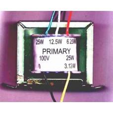 LINE TRANSFORMER 100 V 25 W