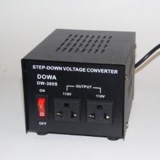 CONVERTER 220 V- 110 V AC    300 W