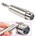 XLR 3 P FEM.- 6 . 3 ST. M. ADAPTOR