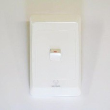 1 LEVER LIGHT SWITCH & COVER