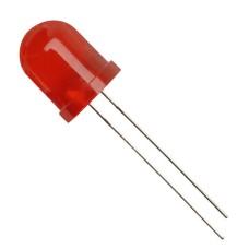 10 MM LED RED    1 , 7 V 20 MA