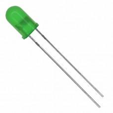 5 MM LED GREEN  1 , 7 V 20 MA