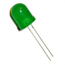 10 MM LED GREEN  1 , 7 V 20 MA