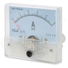 5A DC PANEL METER