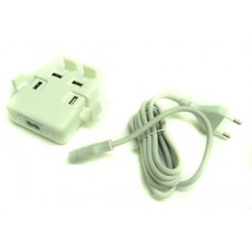 USB CHARGER  4-PORT  5V 8A