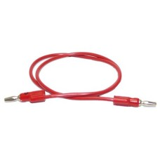 LEAD BANANA PLUG 4 MM RED  90 CM