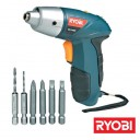 RECHARGEABLE SCREWDRIVER 4 . 8 V