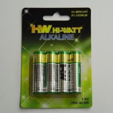 ALKALINE BATTERY  AA 1 , 5 V  ( 4 )