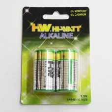 ALKALINE BATTERY   C 1 , 5 V  ( 2 )