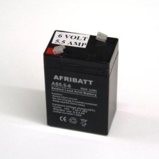 6 VOLT 5 . 5 AHR SLA BATTERY