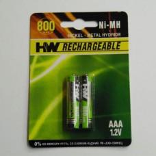 AAA NI- MH 1 , 2 V  800 MAH      ( 2 )