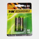 AA  NI- MH 1 , 2 V 2500 MAH      ( 2 )