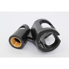 MICROPHONE HOLDER RUBBER/ BRASS