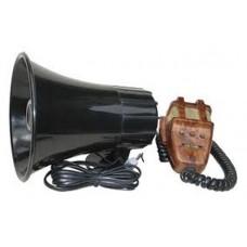 MEGAPHONE 3 SIREN TONE 12 V 50 W