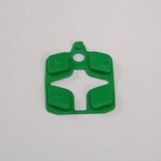 CENT. SMART BUTTONS- GREEN ( 4 )