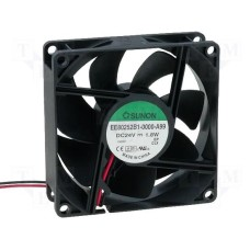FAN 80 SQ* 25 24 V 41 CFM