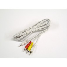 3 . 5 4 CONNECT TO 3 RCA MALE 2 M