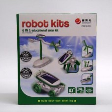 6 - IN- 1 SOLAR ROBOT KIT 2011