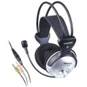 HEADPHONE WITH DYNAMIC MIC.