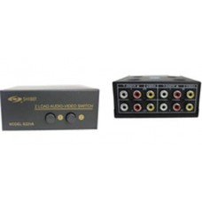 AV SWITCH - 2 IN - 2 OUT
