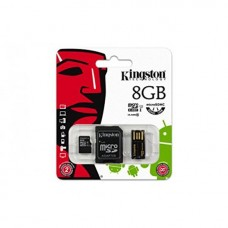 SD/ MICRO KIT/ USB CARD READ. 8 GB